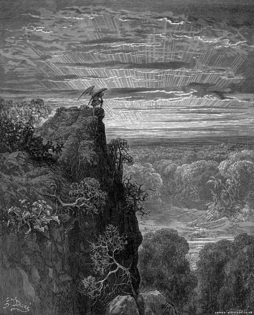 Satan Sin And Death Paradise Lost Book: Milton's Paradise Lost And Its Influence On One Of My Much
