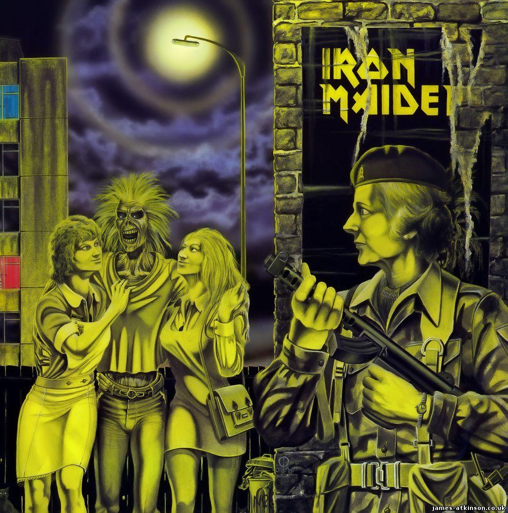 Derek Riggs Artwork For Iron Maiden Brings Back Wonderful